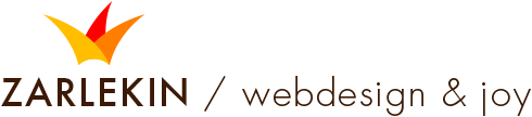 Zarlekin - Webdesign \& Joy